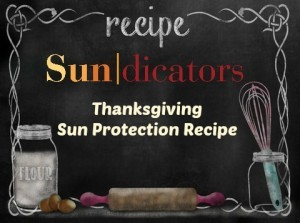 Sundicators recipe for sun protection