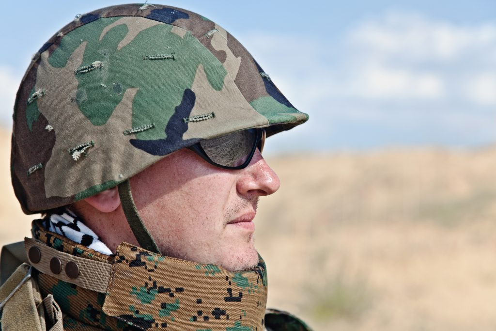 sun exposure while in the military