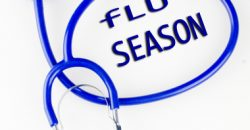 flu season and skin