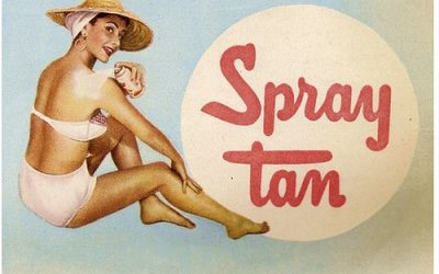 the history of spray tanning