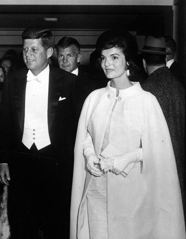 First Lady Inaugural Ball Gowns Jackie Kennedy