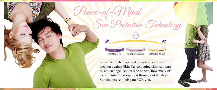 Sundicators peace of mind sunscreen reminders